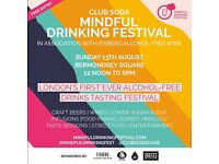 Club Soda Mindful Drinking Festival, in association with Eisberg alcohol-free wines