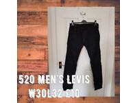 Men's Levis Jeans 520 W30L32