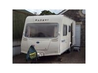 Bailey Ranger 500/5 series 'Bubbles' edition touring caravan with motor movers and tons of extras!