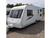 Compass Rambler 18/4, 4 berth,mover,fixed singles,recent service,damp free