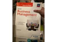 SQA HOW TO PASS HIGHER BUSINESS MANAGEMENT by HODDER GIBSON