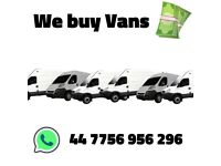 We buy used Vans in any condition