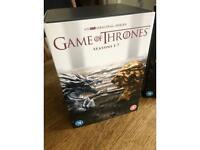 Complete game of thrones DVD seasons 1-8