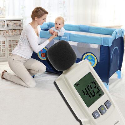Sound Decibel Meter Digital Mini Audio Noise Pressure Level Measurement 30-130db