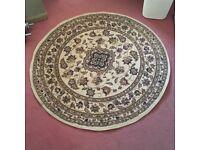 Rug Nice clean round rug