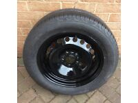 Brand new Vw steel wheel and tyre