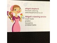 Abigail's cleaning service