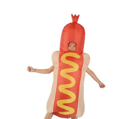 Neuheit Aufblasbare Kostüm Hot Dog Kostüm Erwachsene Halloween Party