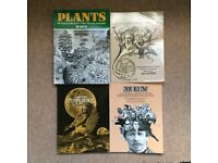 4 Royalty Free Pictorial Collage Books - Jim Hartner - Graphic Design