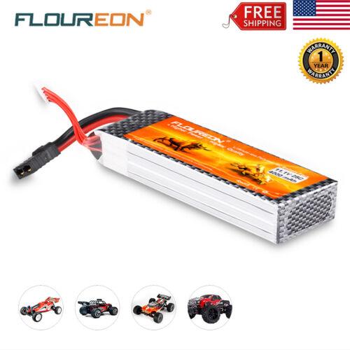 3S 11.1V 4000mAh 25C Traxxas Plug Lipo Battery Plug RC Car T