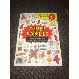 Kids time table book
