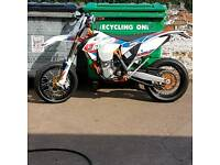 Ktm 500exc supermoto six days 4 hours use