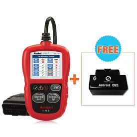 Autel AutoLink AL319 OBD2/EOBD Scan Tool Car Diagnostic Code Reader with Read and Erase Codes