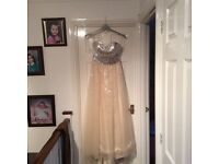Prom/Evening/Bridesmaid dress UK size 10 - new and unused