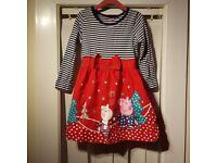 Peppa Pig Girls Xmas dress