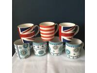 7 Retro Style Mugs