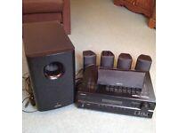 Home cinema audio system