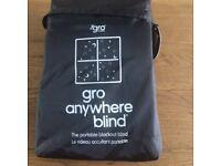 Gro Anywhere Blind, blackout blind