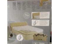 Aerobed inflatable raised single bed