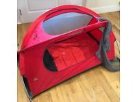 Nomad child's travel cot