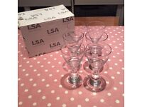 LSA Wine Glasses - brand new