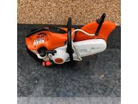 Brand-new stihl petrol disc cutter