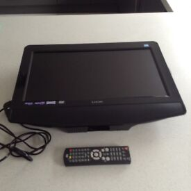 "Logik 19"" Led Television with built in Freeview & DVD player excellent condition"