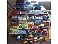 Job Lot: 57 Model Cars. Corgi, Matchbox, Vanguards etc. Excellent Condition