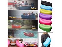 Lazy Lounger Inflatable Air Bed Sofa