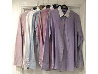 5x Next Men's formal shirts - size 15.5