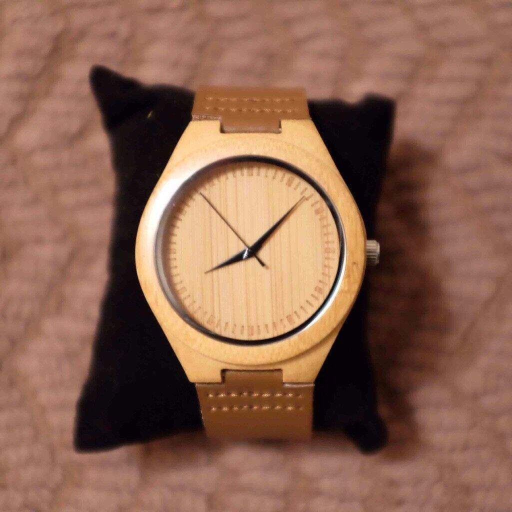 Afftue Men's Bamboo Watch