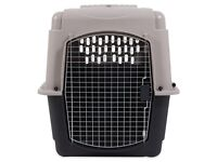 Dog crate for large dog, air travel