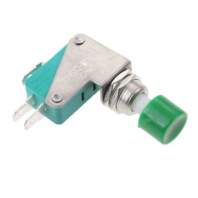Ac 125v250v 15a Spdt No Nc Momentary Push Button Micro Switch Ds438 Green