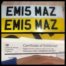 Private reg plates