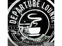 Experienced kitchen staff wanted at Departure Lounge coffee shop, Norwich.