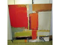 Large, Abstract Unframed Print