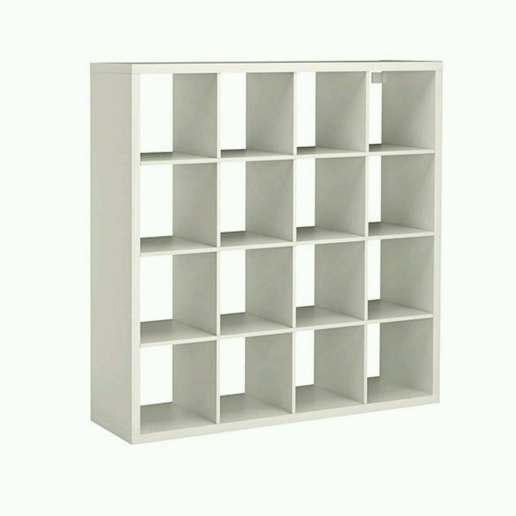 Ikea White Shelving