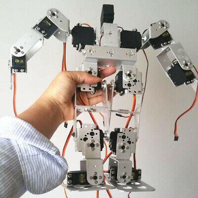 13 Dof Mechanical Human Robot Digital Servo Kits Biped Humanoid Robot Frame
