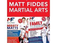 Beginner martial arts classes at Matt Fiddes Weymouth