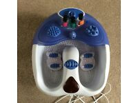 VISIQ INFRA RED Bubble Foot Spa With Water Jets, Complete with Attachments & Instruction Manual.