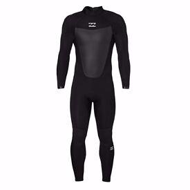 NEW Billabong 5/4mm Winter Foil Wetsuit Back Zip