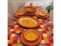 Mediterranean dinning set