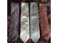 Men's ties. x4 Next & Debenhams