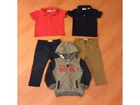 2 Boys Outfits 18-24 months