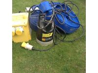 Pons tar submersible water pump kit model px55011 with class 1 construction dyna power transformer