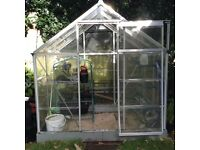 Polycarbonate greenhouse. 6x4 ft