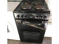 Bush Electric Cooker Black 50cm