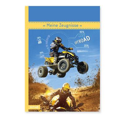 """Zeugnismappe A4 """"Quad"""" mit 10 Einlagen 22,5 x 31 cm (Roth Edition; #Zeugnisma..."""