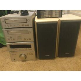Used Fully Working Technics Separates Stereo System