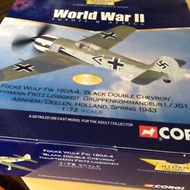 Collection of Corgi Aviation Models